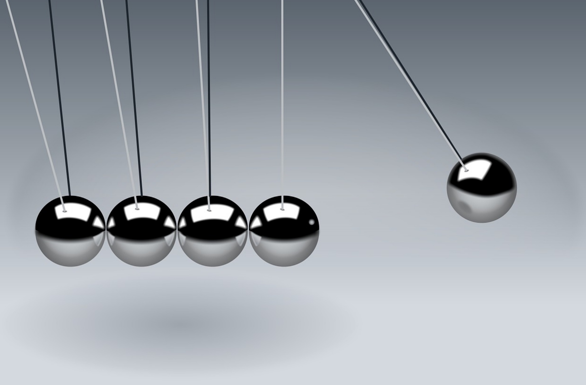 Newton's Cradle, find executive coaching in Nashville, TN, executive training with Agility Leadership.